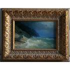 Картина морской пейзаж подписная А.Бобрович 2012 г