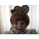 Характерная кукла. Фарфор, 30 см.
