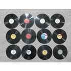 Пластинки 50-60-х годов 12 шт. н4