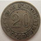 Италия 20 чентезимо 1894 г. (d)
