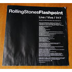 "Rolling Stones ""Flashpoint"" (Booklet)"
