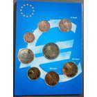 Андорра набор евро от 1 цента до 2 евро (1, 2, 5, 10, 20, 50 евроцентов, 1,2 евро)