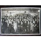 Фото выпуска Виленской белорусской учительской семинарии Зана 1935 год