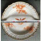 Тарелка KPM из обеденного сервиза Итальянской Королевской Фамилии, 1900-е годы.