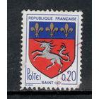 Франция /1966/ Геральдические животные / Гербы / Michel #FR 1570x