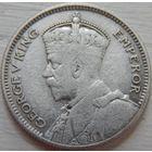 12. Фиджи 6 пенсов 1934 год, серебро