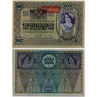 Австрия. 10 000 крон (образца 1918 года, выпуск 1919, P65, aUNC)