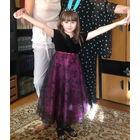 Нарядное эффектное платье Rose Cottage из США, 7-8 лет