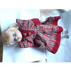 Колекционная кукла с фарфоровой головой.  распродажа