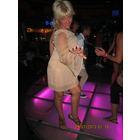 Гламур Парижа Фирменное платье на одно плечо Персик рМ