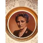 Настенная тарелка с изображением Кронпринцессы Норвегии Марты Шведской 1901-1954