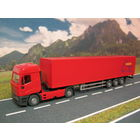 Модель грузового автомобиля Iveco EuroStar. Масштаб HO-1:87.