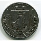 Ng ВАТТЕНШАЙД - 10 ПФЕННИГОВ 1919