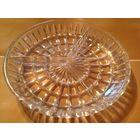 Тарелка для орехов, маслин стекло