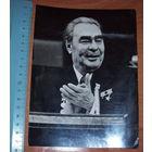 Любительское фото Л.И. Брежнева на 25 съезде КПСС оригинал