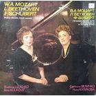 МОЦАРТ, БЕТХОВЕН,ШУБЕРТ -Произведения для ф-но в  4 руки - LP - 1983