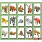 """Фигурки """"Планета Животных 2015 (Animal Planet)"""" от Ферреро -Ferrero - полная серия (15 из 15)"""