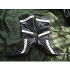 Сапоги на каблуке (шпилька) размер 40 (натуральная кожа)