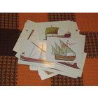 48 открыток Корабли