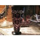 Ваза рубиновое стекло Германия середина 19 века