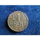 ЕВРОПА ВОСТОЧНАЯ ПОЛЬША довоенные медные монеты 1 грош 1927, 5 грошей 1930 цена одной монеты 5,96 руб