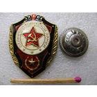 Знак. Отличник Советской армии. (тяжёлый, винт, ДМБ)