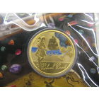 Тувалу 1 доллар 2011г. Чёрная Борода  km179 тираж 5 000
