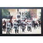 Германские гусары в Брюсселе 1 Мировая война