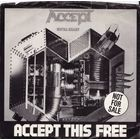 Accept - Accept This Free - SINGLE - 1985