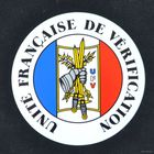 Наклейка с эмблемой группы контроля ВС Франции (отдам при покупке определенного лота с ценой)