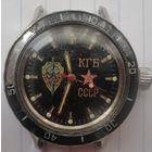 Часы командирские КГБ ( корпус нержавейка )