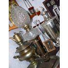 Лампа керосиновая. Франция 19 век. 76см.