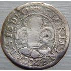 10. Страсбург 2 крейцера 16-17 век, серебро