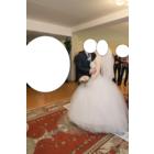 Шикарное свадебное платье 42-44 размер