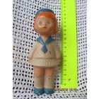 Кукла девочка(резиновая игрушка СССР)