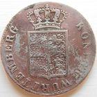 9 Вюртенберг 6 крейцеров 1842 год, серебро