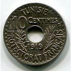 ТУНИС - 10 САНТИМ 1919