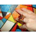 Красивое дизайнерское кольцо куплено в Израиле