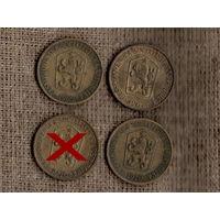 Чехословакия /ЧССР/ 1 крона   1967 /1969 /1970