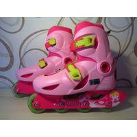 Роликовые коньки Oxelo для девочек 34-36 размер