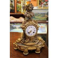 Часы (Бронза, Европа, XIX век, 37 см)