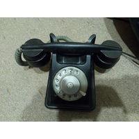 Телефон VEF карболит, старинный, рабочий