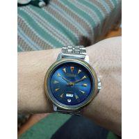 Часы слава механические, всё работает и переключается, распродажа коллекции с рубля