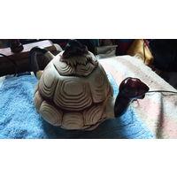 Чайник, заварочный, в виде черепахи, керамиеа. распродажа