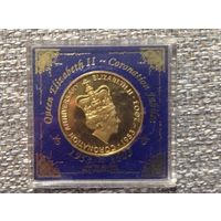 Медаль Британия 50 лет Коранации.