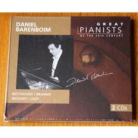 Daniel Barenboim. Great Pianists Of The 20th Century (Audio CD - 1999) digipak 2cd
