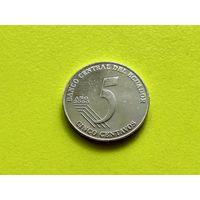 Эквадор. 5 сентаво 2000.
