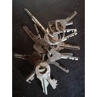 Связка ключей с рубля