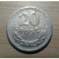 20 грошей 1969 Польша