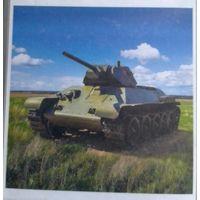 Советский танк Т-34 обр.1941г. 1:100 ПСТ